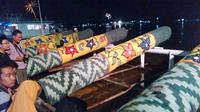 Festival Meriam Karbit sambut Lebaran di Pontianak, Kalbar. (Liputan6.com/Raden AMP)