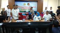 Polisi membongkar sindikat perdagangan orang atau human trafficking. (Liputan6.com/Nafiysul Qodar)