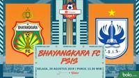 Liga 1 2019: Bhayangkara FC vs PSIS Semarang. (Bola.com/Dody Iryawan)