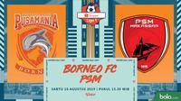 Shopee Liga 1 - Pusamania Borneo FC Vs PSM Makassar (Bola.com/Adreanus Titus)