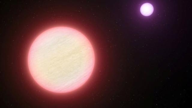 Bintang dengan awan air (Space.com)
