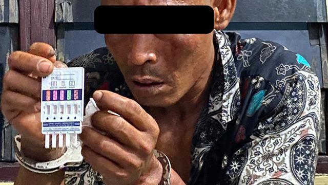 Pelaku pengancaman terhadap polisi ternyata positif narkoba