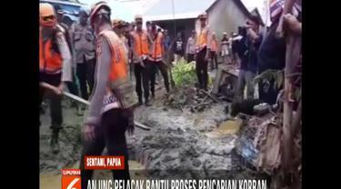 Wilayah Kemiri, BTN Sosial, dan Doyo, lokasi terdampak banjir bandang terparah menjadi fokus pencarian korban yang masih hilang.