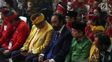 Menteri hingga Tokoh Parpol Koalisi Hadiri Kongres PDIP
