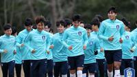 Timnas Korea Selatan U-23. (Bola.com/Dok. KFA)
