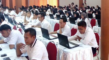 Pelaksanaan Tes CPNS di Malang