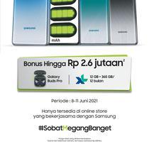 Samsung Galaxy M62, smartphone Rp 5 jutaan dengan baterai 7.000mAh. (Foto: Samsung Electronics Indonesia).