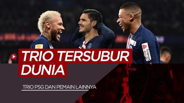 Berita motion grafis 5 trio tersubur di liga top Eropa saat ini, tidak ada striker dari Barcelona dan Manchester United.