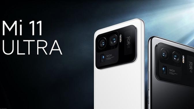Penjualan Xiaomi Mi 11 Ultra untuk umum akhirnya dibuka. (Ist.)