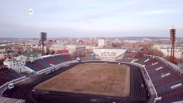Berita video seri Life is a Pitch dari DW yang kali ini membahas Stadion Trud di Irkutsk, Rusia, stadion yang digunakan untuk dua cabang olahraga berbeda di dua musim yang berbeda juga.