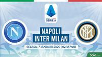 Serie A: Napoli vs Inter Milan. (Bola.com/Dody Iryawan)