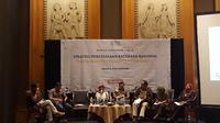 Diskusi Kebijakan Publik Strategi Pengelolaan Batubara Nasional, di Hotel Aryaduta, Jakarta, Kamis (4/10). Dok Merdeka.com/Dwi Aditya Putra