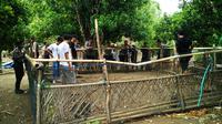 Lokasi sabung ayam di Kabupaten Sidenreng Rappang (Sidrap), Sulsel. (Liputan6.com/Eka Hakim)