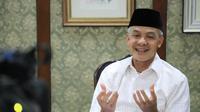 Gubernur Jawa Tengah Ganjar Pranowo ikut menjadi pembicara dalam Rapat Koordinasi Nasional (Rakornas) Bidang Perpustakaan 2021. (Liputan6.com/ Ist)