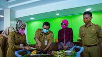 RSUD SSMA itu berdiri pada tahun 2012. Wali Kota Pontianak Edi Rusdi Kamtono mengajak seluruh jajaran RSUD SSMA menjadikan momentum  di tengah pandemi ini untuk melakukan evaluasi-evaluasi. (Liputan6.com/ Ist)