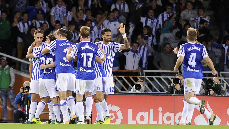 Real Sociedad (AFP/Ander Gillenea)