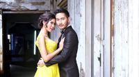 Syahnaz dan Jeje Govinda lakukan pre wedding [foto: instagram/kopaka.bridal]