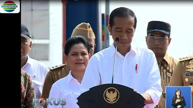 Lebih jauh, Jokowi juga menambahkan ruas tol ini akan menjadi jalan bebas hambatan terpanjang setelah Tol Cikopo-Palimanan (Cipali).