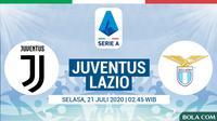 Serie A - Juventus Vs Lazio (Bola.com/Adreanus Titus)