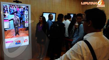 "Telkomsel menggelar ""Telkomsel Digi Expo 2014"". Gandaria City, Rabu (23/4/2014) (Liputan6.com/Andrian M Tunay)."