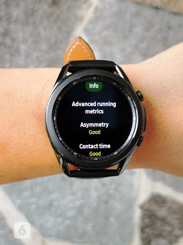 Smartwatch Samsung Galaxy Watch3. Liputan6.com/Mochamad Wahyu Hidayat