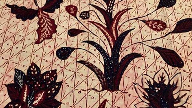 6 Motif Bunga Cantik Penghias Batik Pesisiran Yang