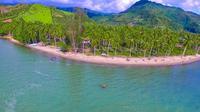 Pagi di Pantai Taula'a, Destinasi Wisata Indah yang Nyaris Terlupakan Akibat Pandemi. foto: Uyan (Arfandi ibrahim/Liputan6.com)
