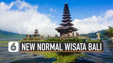 Memasuki fase new normal, beberapa kota di Indonesia yang kurva kasus Corona cenderung landai akan disiapkan. Salah satunya new normal pariwisata di Bali akan disiapkan oleh Kemenparekraf.