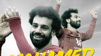 Mohamed Salah. (Bola.com/Dody Iryawan)