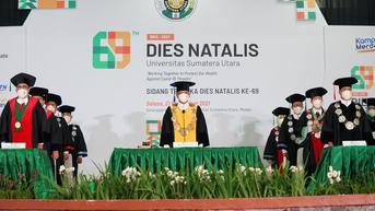 USU Luncurkan Telemedicine Covid-19 pada Puncak Dies Natalis ke-69
