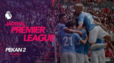 Berita video jadwal Premier League 2019-2020 pekan ke-2. Manchester United ditantang Tottenham Hotspur, Sabtu (17/8/2019) di Etihad Stadium, Manchester.