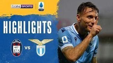 Berita video highlights Liga Italia, Lazio menang 2-0 atas Crotone, Sabtu (21/11/20).