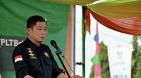 Menteri ESDM Ignatius Jonan meresmikan PLT Biogas milik PT Asian Agri di Jambi. (Liputan6.com/B Santoso)