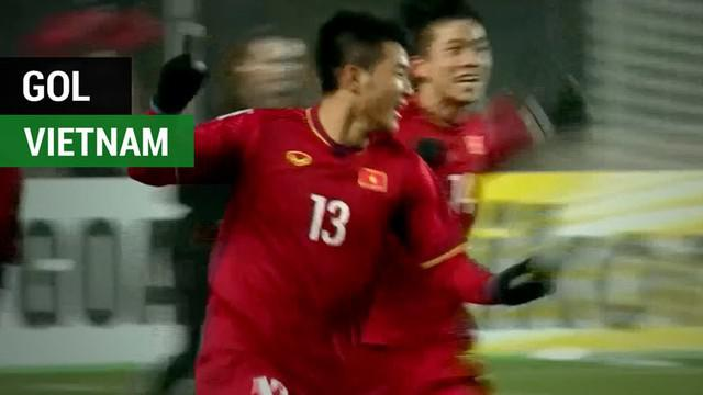 Berita video kumpulan gol Vietnam yang antarkan negara Asia Tenggara tersebut ke final Piala Asia U-23 2018.