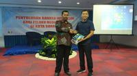Acara penyuluhan Bahasa Indonesia bagi pelaku media massa di Surabaya, Jawa Timur (Foto:Liputan6.com/Dian Kurniawan)
