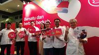 Operator Tri merilis sejumlah paket layanan baru untuk Ramadan di Jakarta, Selasa (22/5/2018). Liputan6.com/Andina Librianty