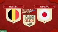 Piala Dunia 2018 Belgia Vs Jepang (Bola.com/Adreanus Titus)