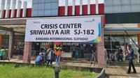 Bandara Soekarno-Hatta, Tangerang, dan Bandara Supadio, Pontianak, membuka Posko Crisis Center Sriwijaya Air SJ182 (dok: AP II)