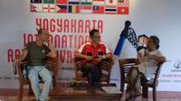 Puluhan perupa akan melukis bersama di Candi Borobudur dalam Yogyakarta International Art Festival