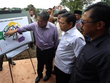 20170403- Ketua DPR Tinjau Pembangunan Pusdiklat DPR di Bogor- Johan Tallo