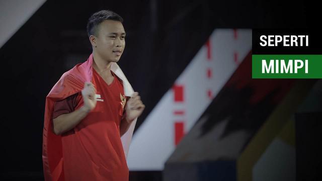 Atlet E-Sports Indonesia dalam gim Clash Royale, Ridel Sumarandak atau Benzer Ridel merasa mendapatkan emas bagai mimpi untuk dirinya.