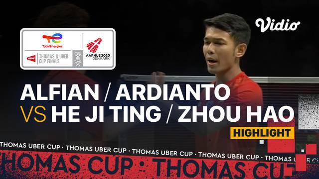 Berita Video, Hasil Pertandingan Piala Thomas 2020 antara Indonesia Melawan China pada Minggu (17/10/2021)