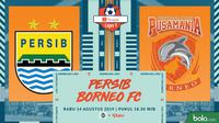 Shopee Liga 1 - Persib Bandung Vs Borneo FC (Bola.com/Adreanus Titus)