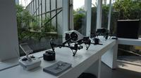 Toko drone DJi terbesar di Asia Tenggara dibuka di Mall Alam Sutera, Tangerang Selatan. Liputan6.com/Agustin Setyo Wardani
