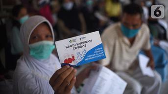 Sudah 7,3 Juta Warga yang Divaksinasi Covid-19 Dosis Lengkap di Jakarta
