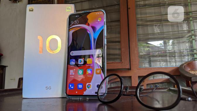 Xiaomi resmi memperkenalkan smartphone premium Mi 10 untuk pasar Indonesia. (Liputan6.com/ Yuslianson)
