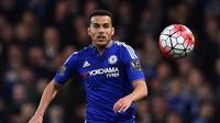 Gelandang Chelsea asal Spanyol, Pedro Rodriguez. (AFP/Ben Stansall)