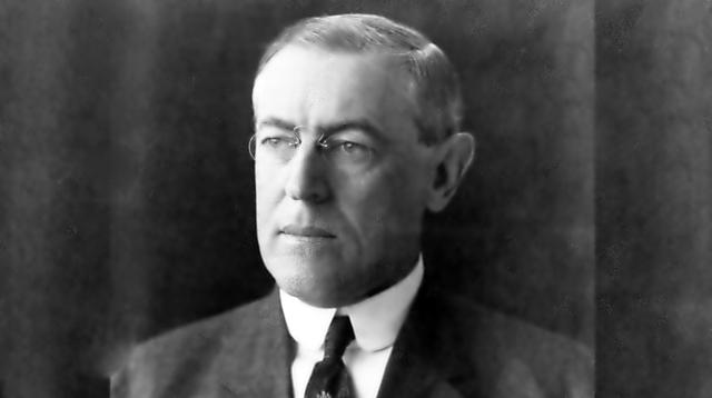Presiden ke-28 Amerika Serikat, Woodrow Wilson (US Library of Congress / Wikimedia / Creative Commons)