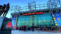 Markas Manchester United, Old Trafford. (Independent)