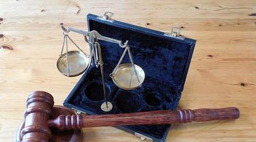 Ilustrasi keadilan.
